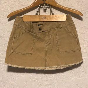 Roxy Corduroy Mini Skirt